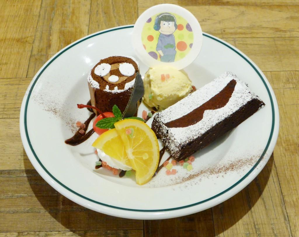 カラ松の「フッ…やっと来たかい?カラ松Sweets☆」